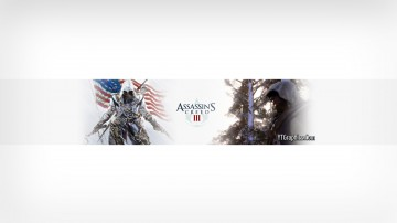 Assassins Creed 3 Youtube Channel Art Banner