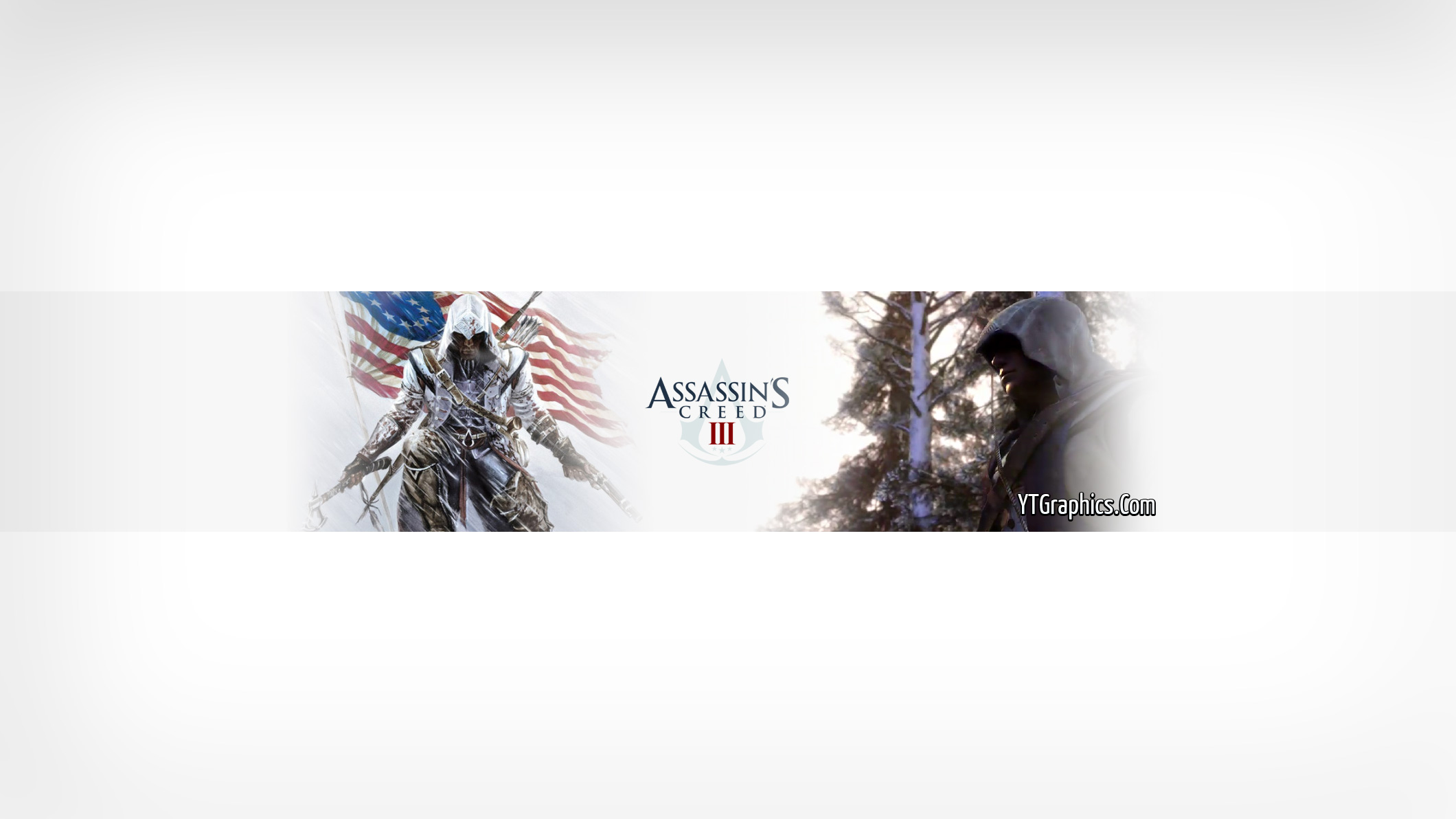 Creed 3 youtube channel art banner youtube channel art banners