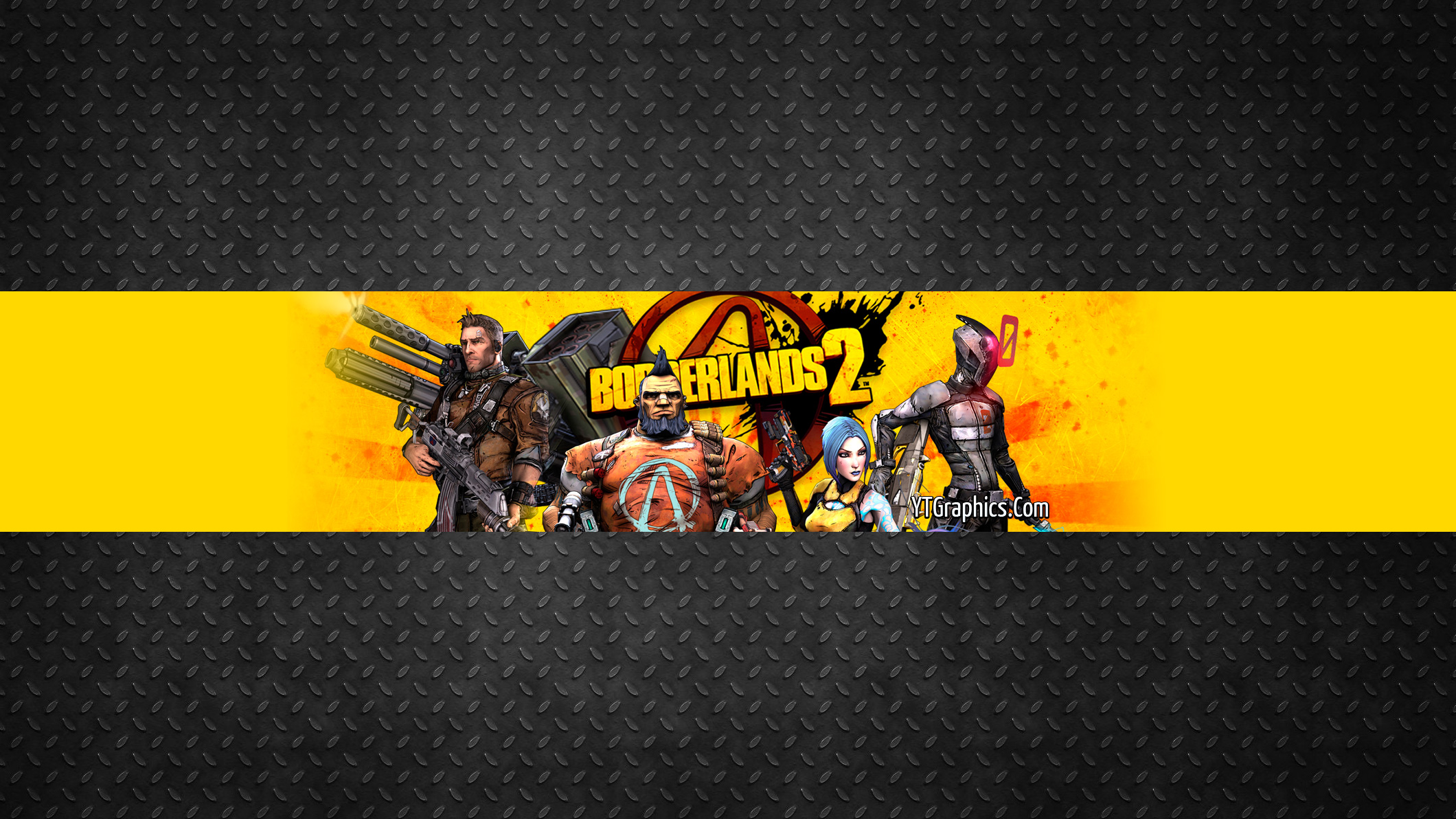 Borderlands 2 Channel Art Banner - YouTube Channel Art Banners