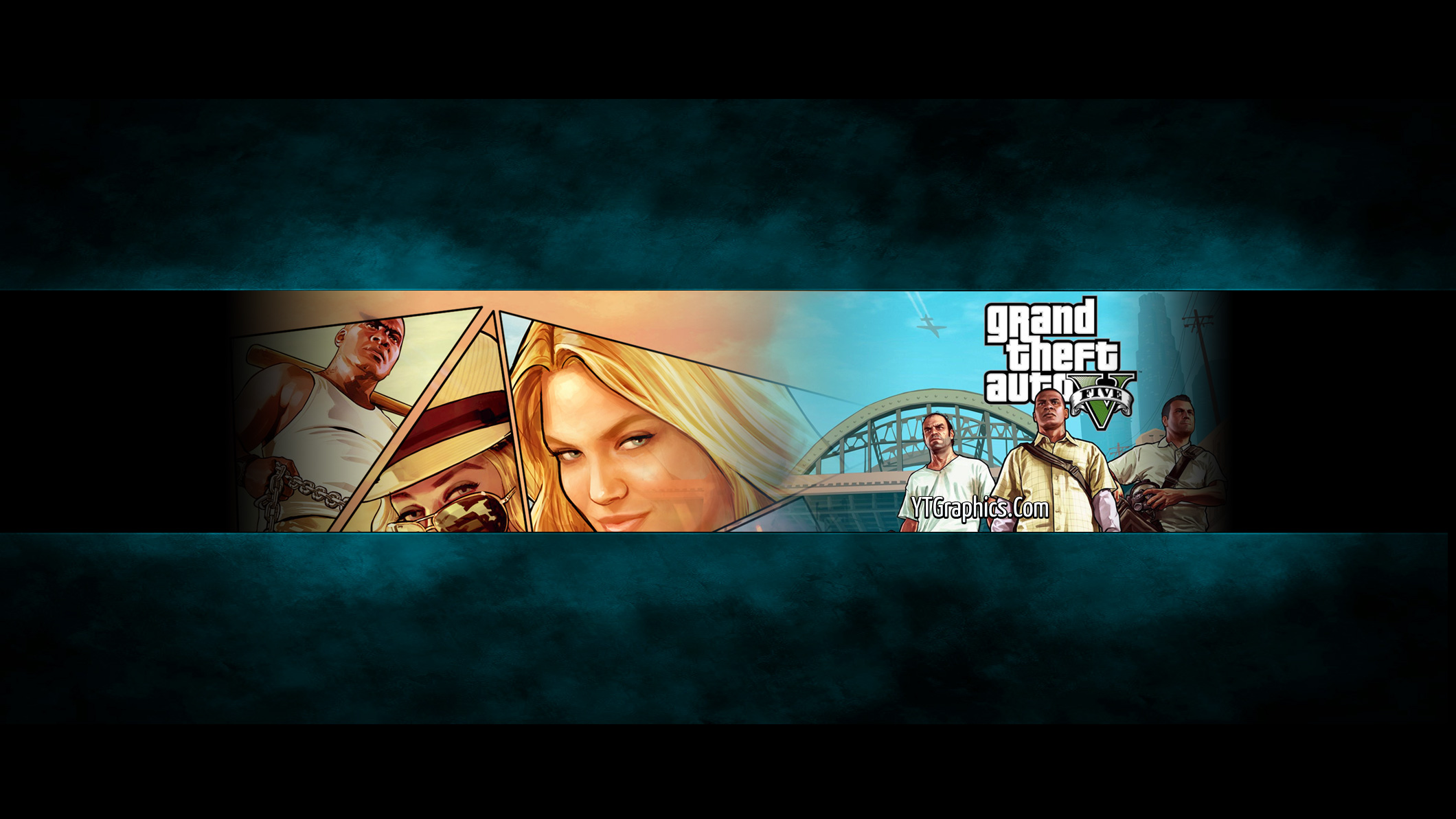 gta 5 channel art banner - youtube channel art banners