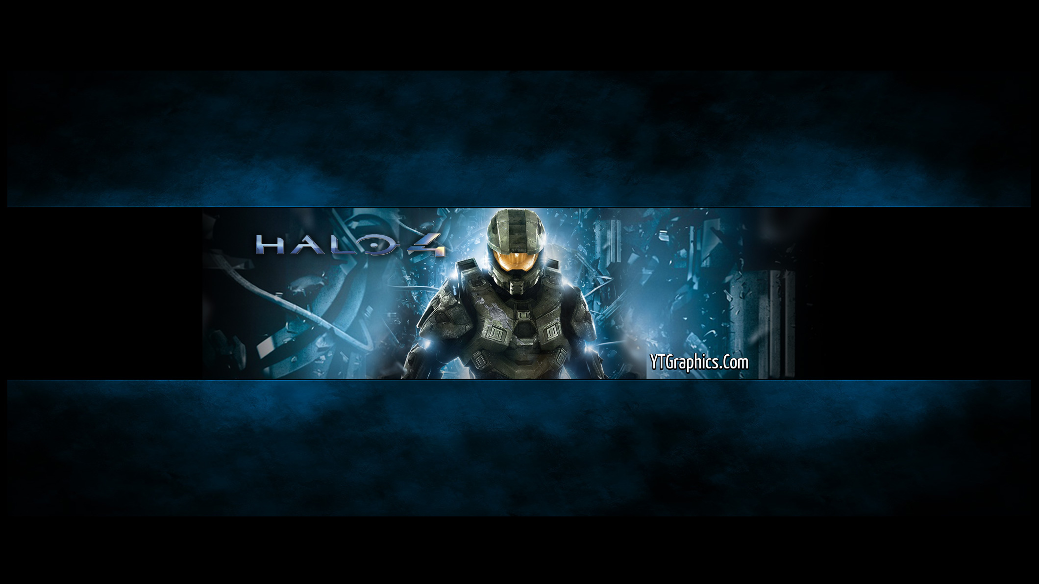 halo 4 youtube channel art banner
