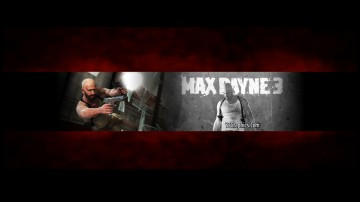 Max Payne 3 Youtube Channel Art Banner