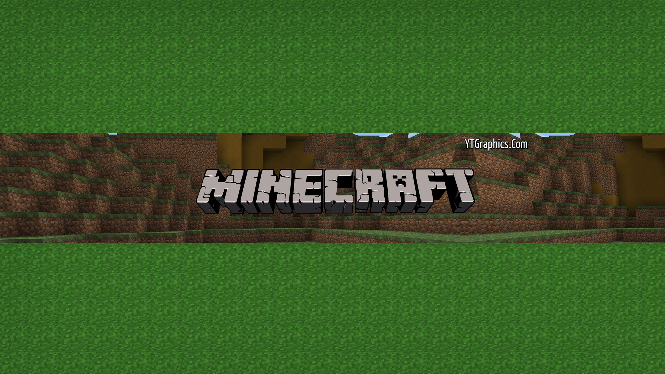 Minecraft Channel Art 4 - YouTube Channel Art Banners