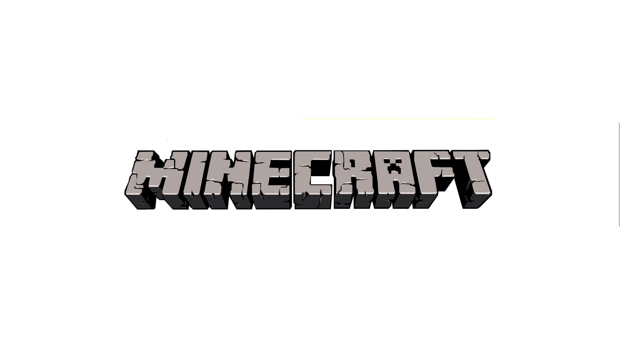 Minecraft Logo Youtube Channel Art Banner