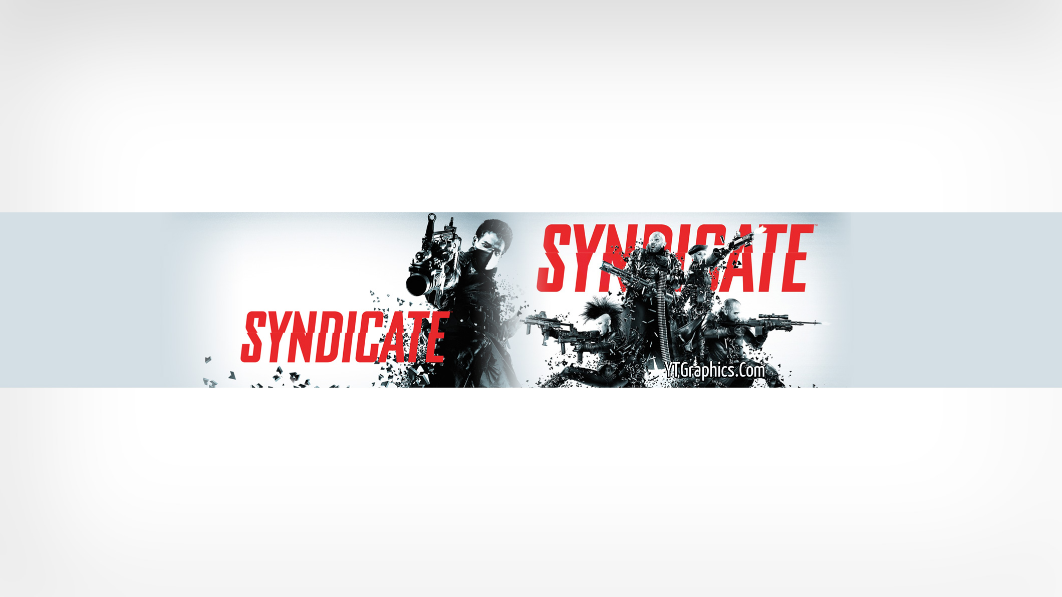 Syndicate Youtube Channel Art Banner - YouTube Channel Art Banners