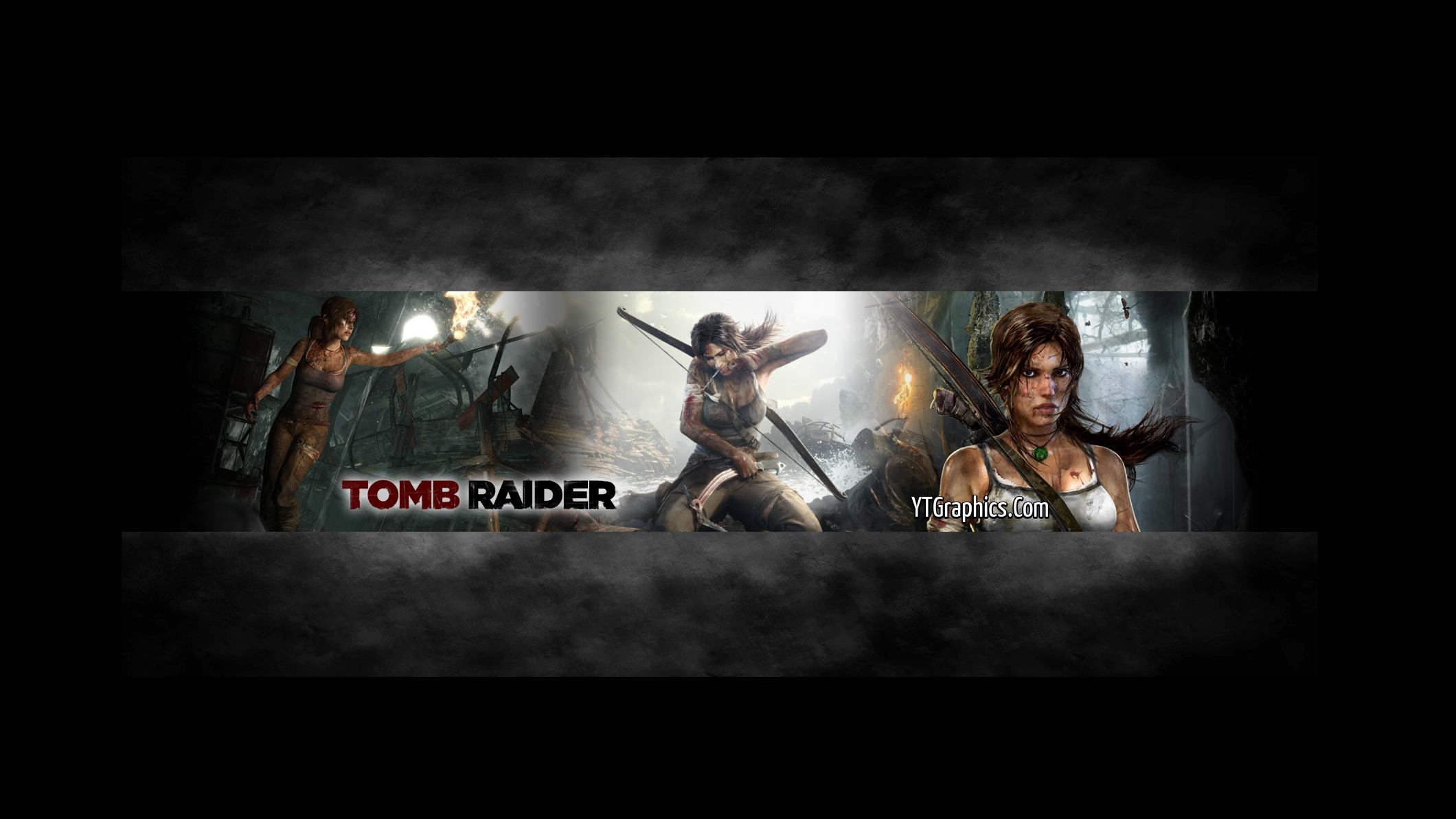 Tomb Raider YouTube Channel Art Banner