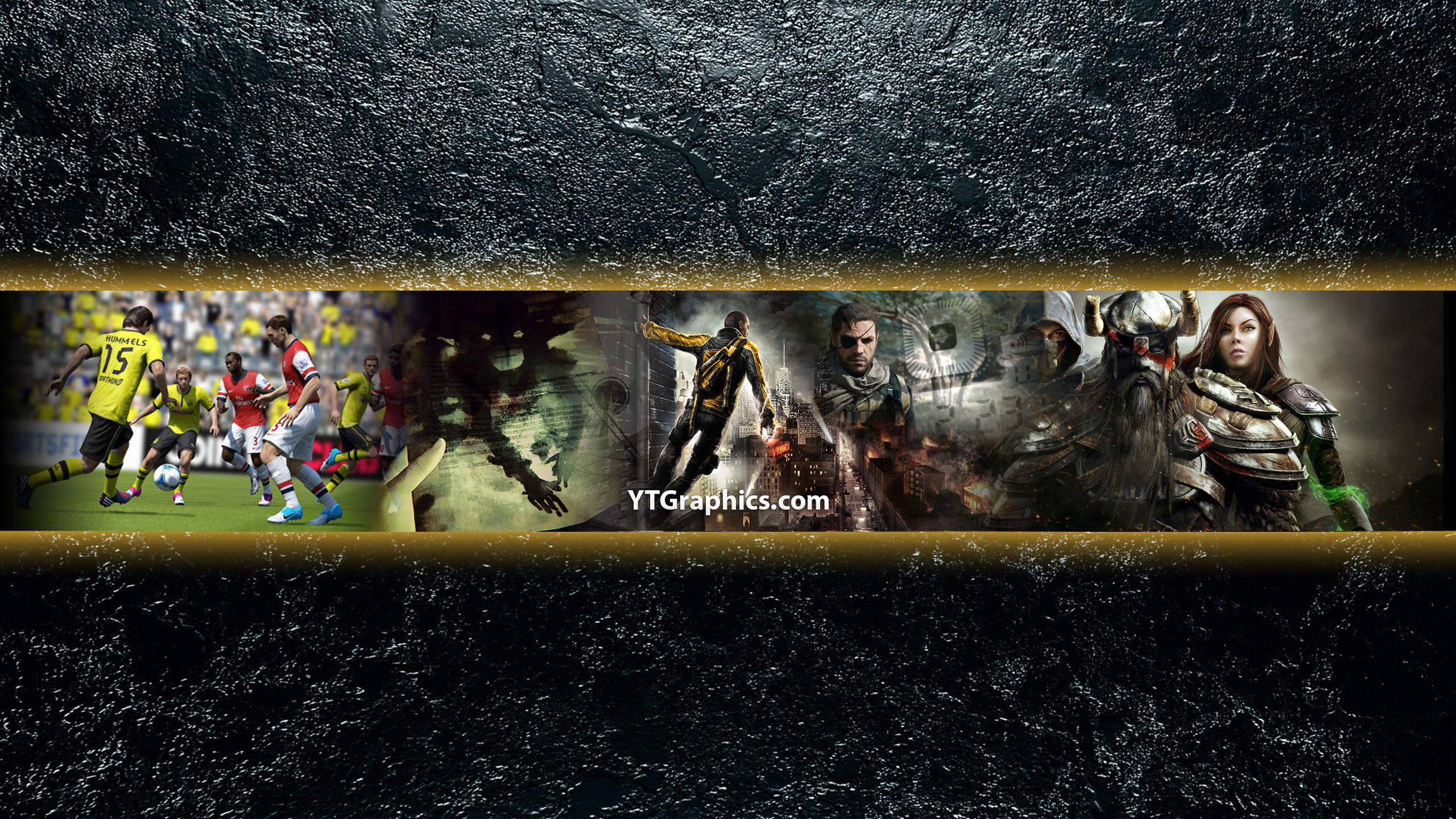 Games of April 2014 - YouTube Channel Art Banners