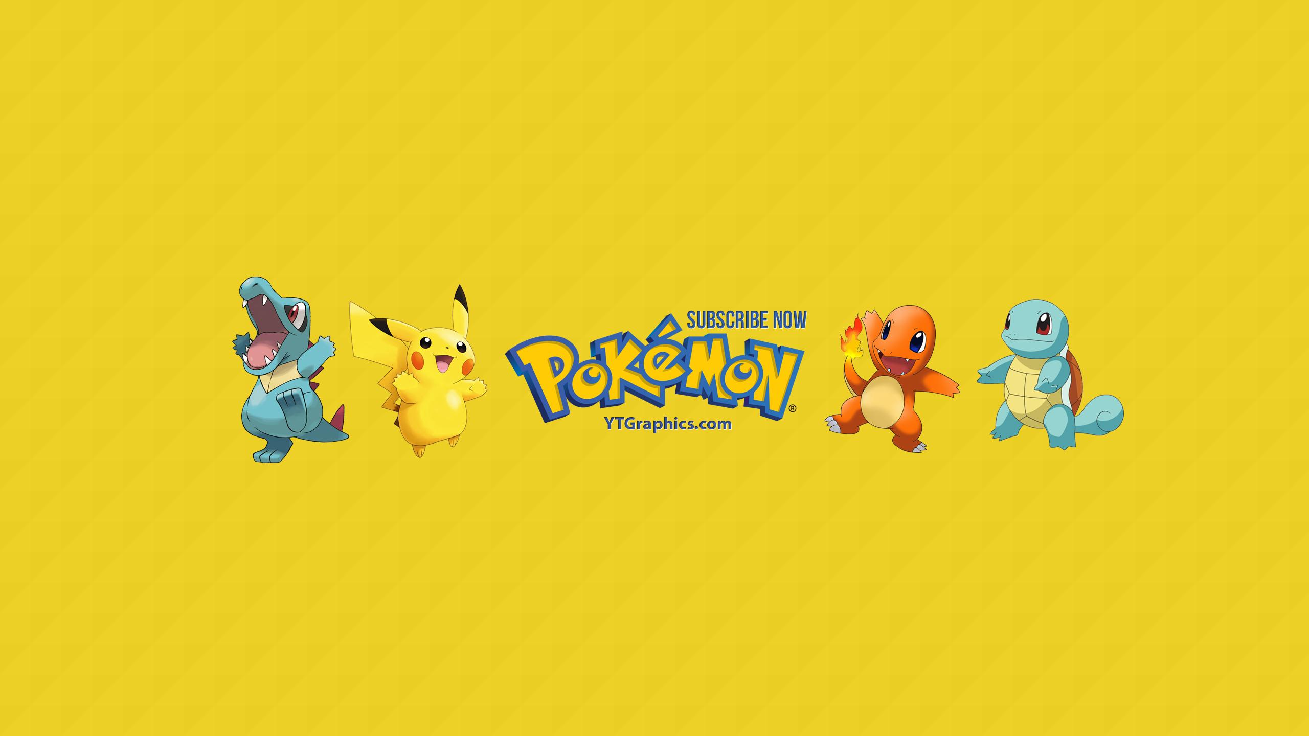 Pokemon Youtube Channel Art Banner
