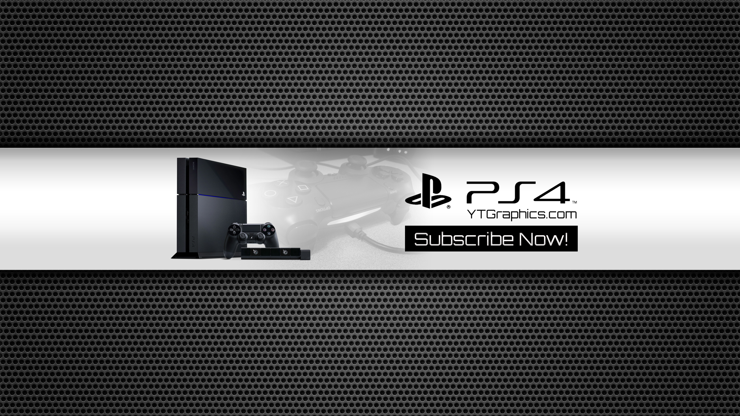 PS4 YouTube Channel Art Banner