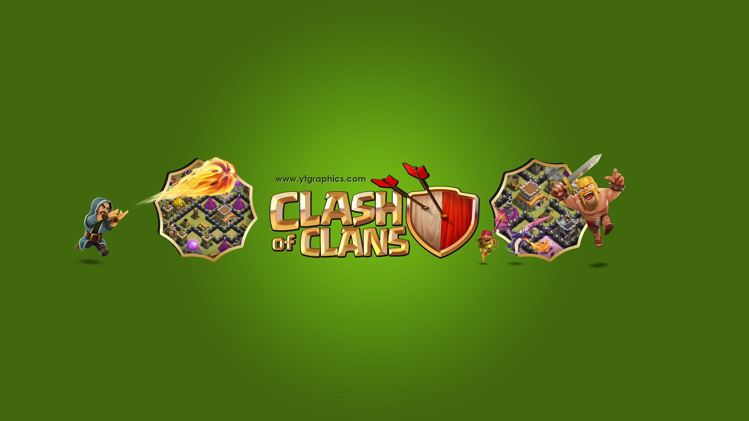 Clash of Cans YouTube Channel Art Banner