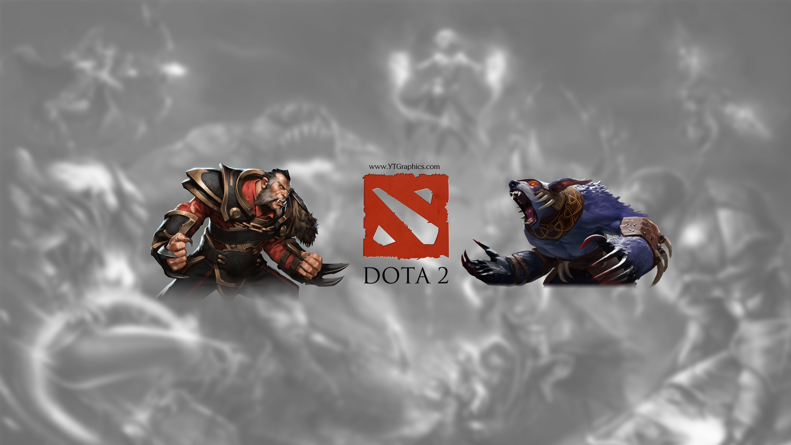 Dota 2 Youtube Channel Art Banners