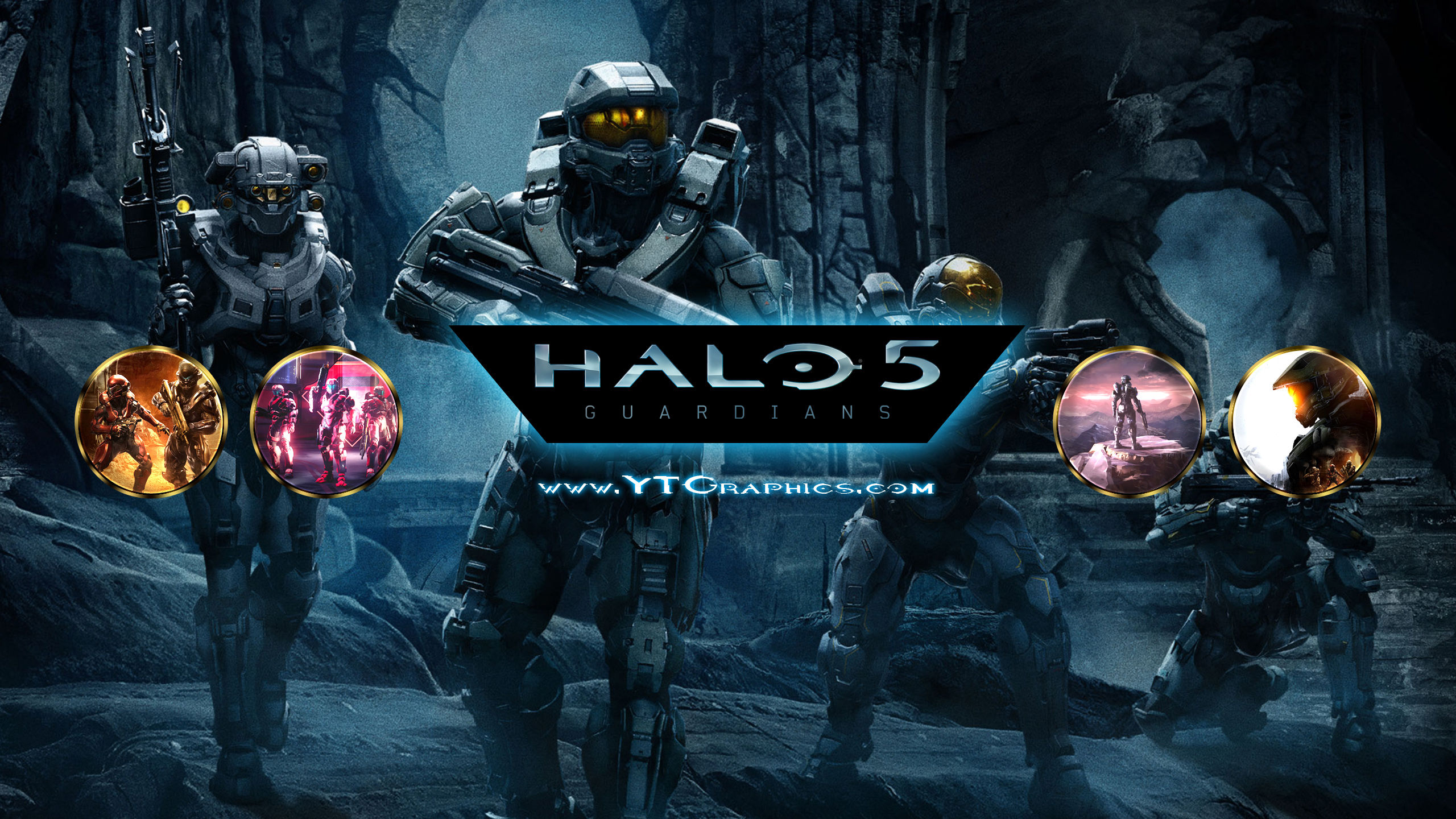 Halo 5 Youtube Channel Art Banners