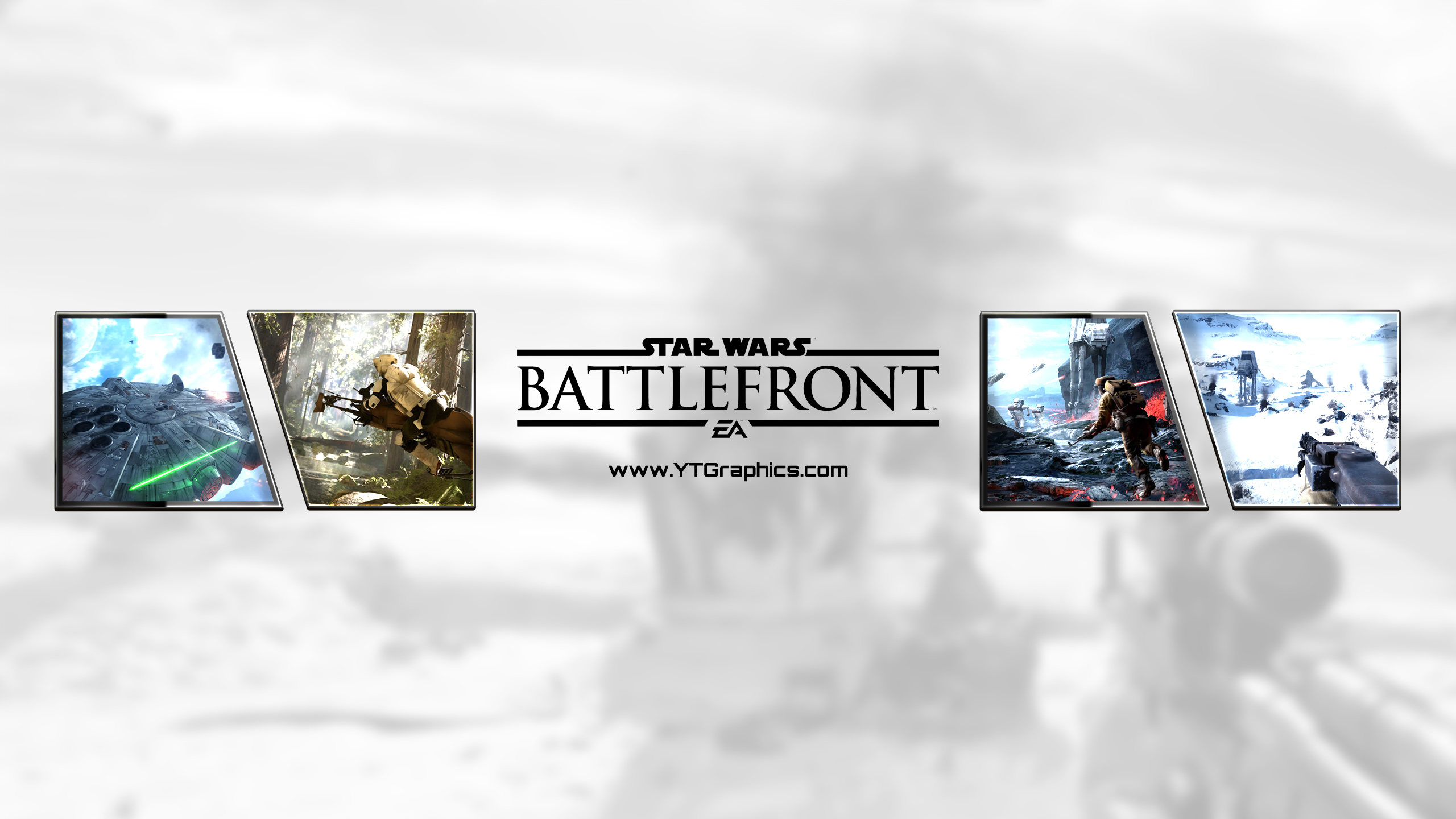 Star Wars: Battlefront - YouTube Channel Art Banners