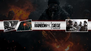 Rainbow Six Siege YouTube channel art banner