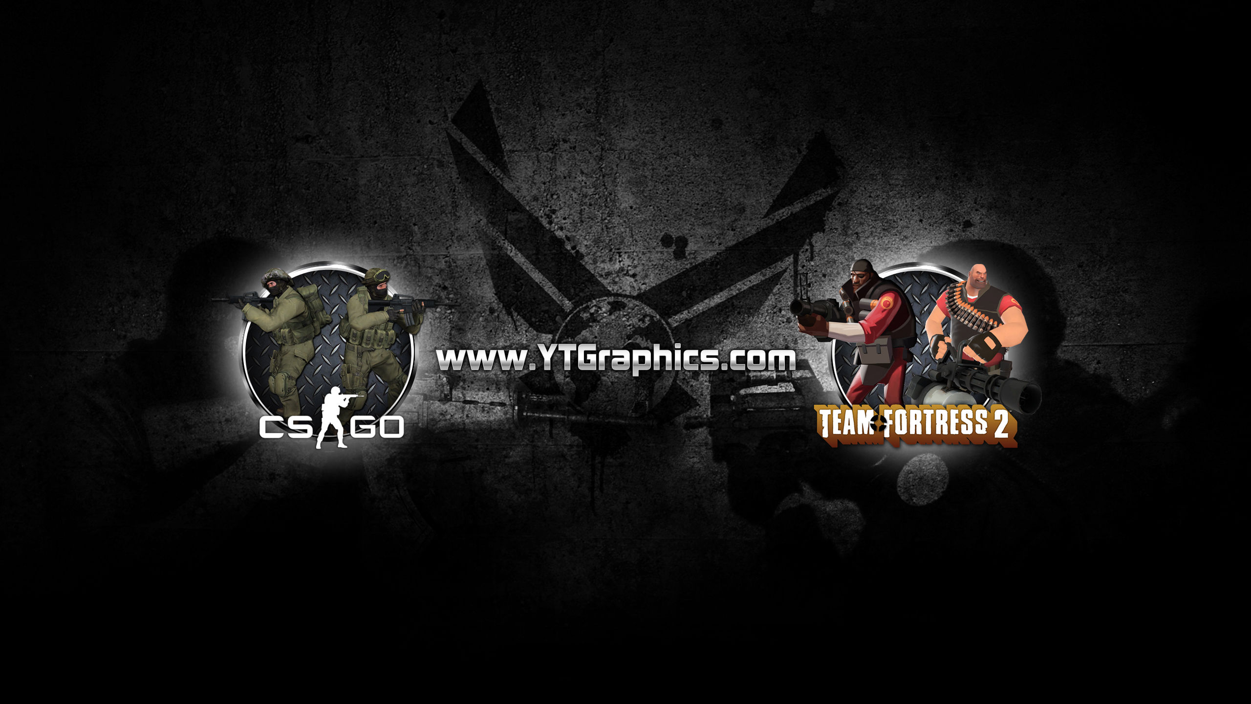mix cs go tf2 youtube channel art banners