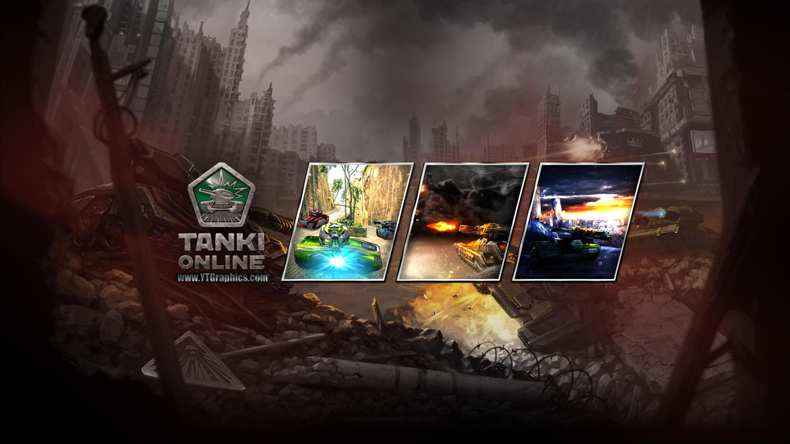 Tanki Online Youtube Channel Art Banner
