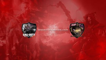 call of duty: black ops 3 and overwatch youtube channel art banner