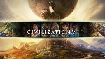 civilization 6 youtube channel art banner