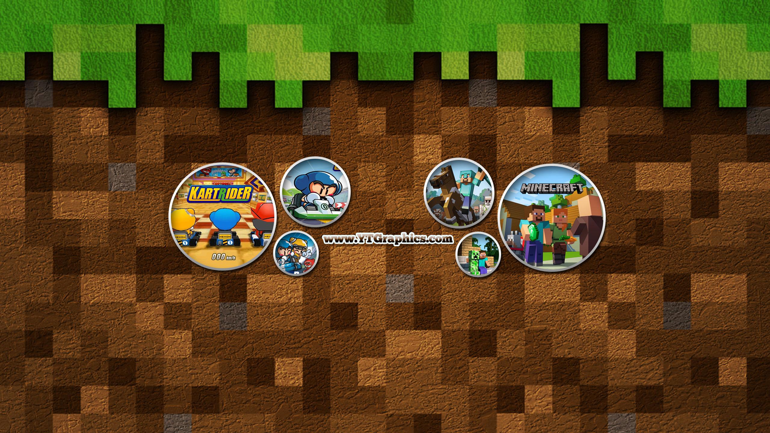 Mix: Kartrider, Minecraft