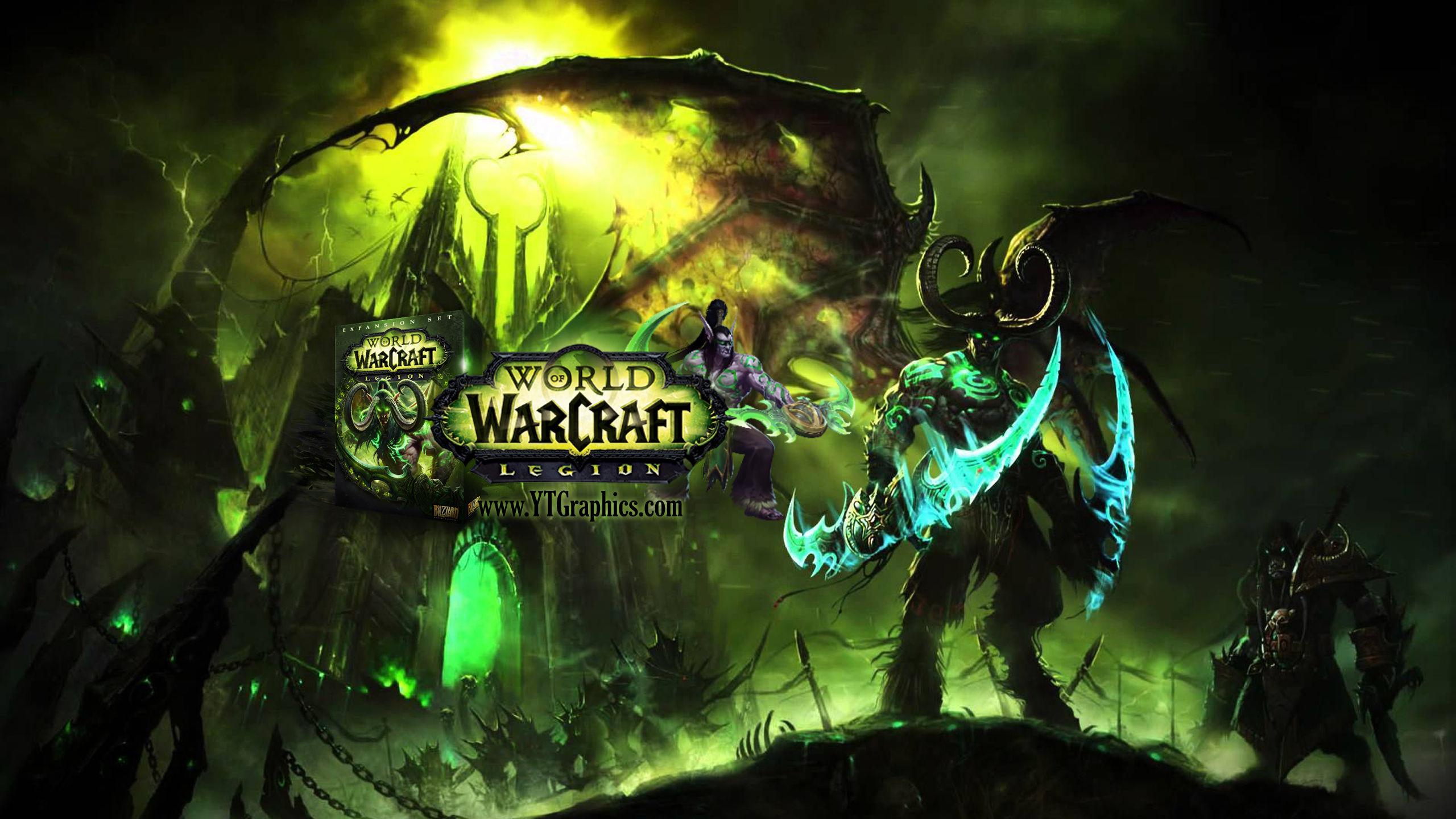 WoW: Legion - YouTube Channel Art Banners