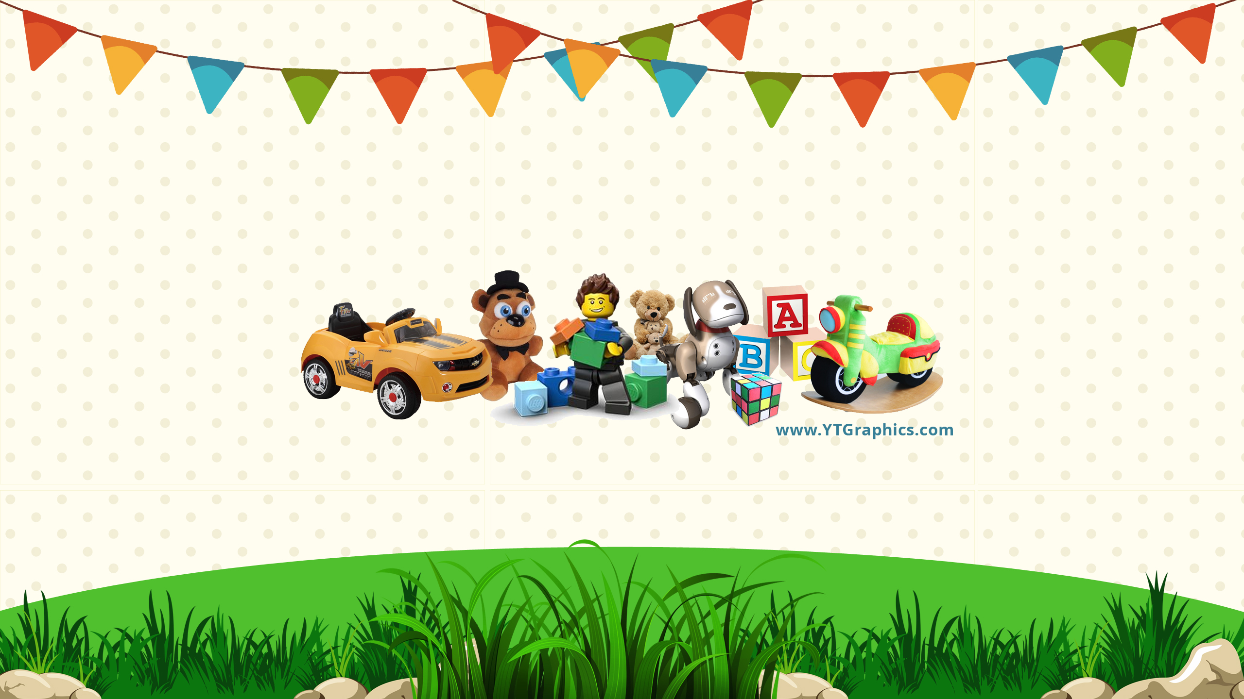 Kids Toys Channel Art Banners