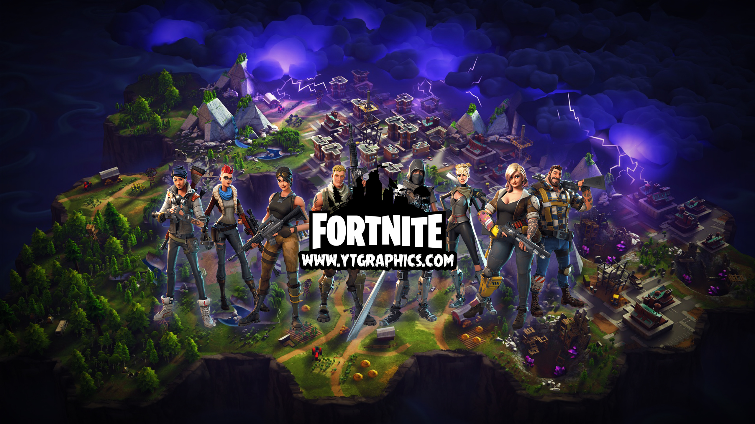 Fortnite Youtube Channel Art Banner